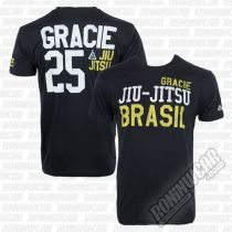 Gracie Apparel T-shirt Tyler Negro