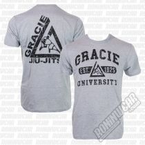 Gracie Apparel T-shirt University Gris