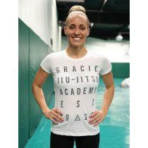 Gracie Apparel T-shirt Women Vision Branco