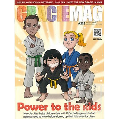 Gracie Magazine Issue 229 May 2016