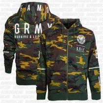 Grimey Core Zip Hoodie Camo
