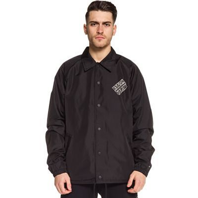 Grimey Counterattack Coach Jacket Black