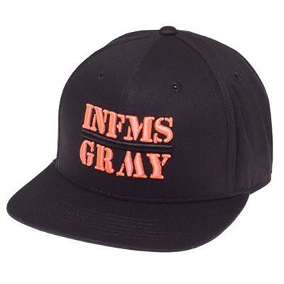 Grimey Counterattack Snapback Fekete