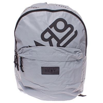 Grimey Fire Eater Reflective Bagpack Gris