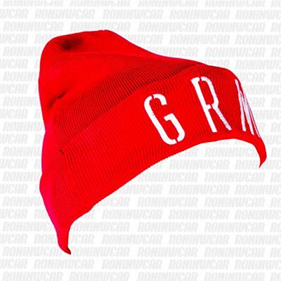 Grimey Nuff Respect Beanie Red