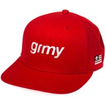 Grimey The Lucy Pearl Snapback Rosso