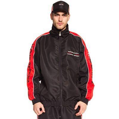 Grimey X 187 Vandal Sport Track Jacket Preto
