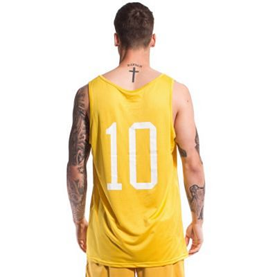 Grimey X Years Mesh Tank Top Yellow