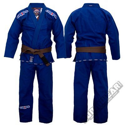Grips Athletics Kimono Secret Weapon 2.0 Blu