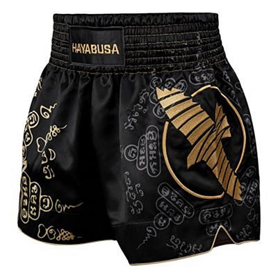 Hayabusa Falcon Muay Thai Shorts Black