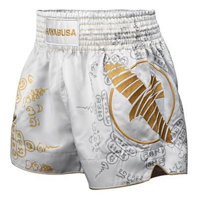 Hayabusa Falcon Muay Thai Shorts Bianco