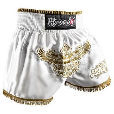 Hayabusa Garuda Muay Thai Shorts Branco