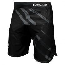 Hayabusa Metaru Charged Jiu Jitsu Shorts Schwarz