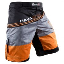Hayabusa Kyoudo Prime Shorts Grau-Orange