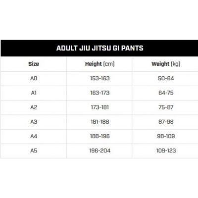Hayabusa Lightweight Jiu Jitsu Gi Blu