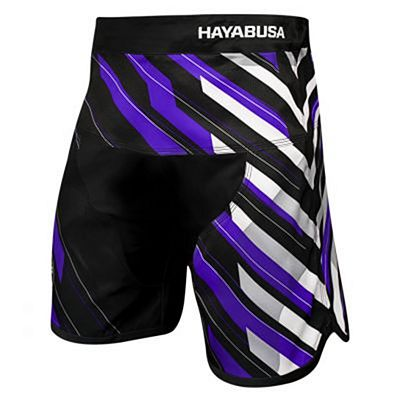 Hayabusa Metaru Charged Jiu Jitsu Shorts Purple