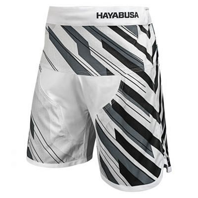 Hayabusa Metaru Charged Jiu Jitsu Shorts White