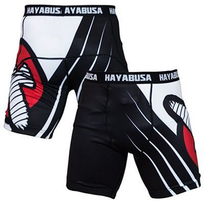 Hayabusa Recast Compression Shorts Negro-Blanco