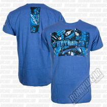 Hayabusa Samurai T-shirt Blue