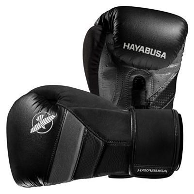 Hayabusa T3 Boxing Gloves Black-Grey