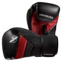 Hayabusa T3 Boxing Gloves Nero-Rosso