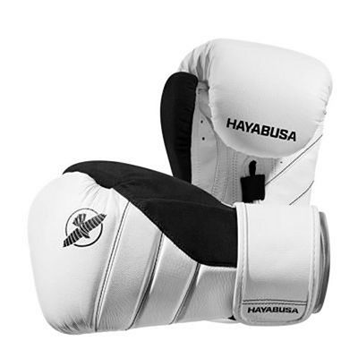 Hayabusa T3 Boxing Gloves White-Black