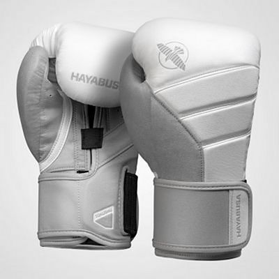Hayabusa T3 Boxing Gloves White-Grey