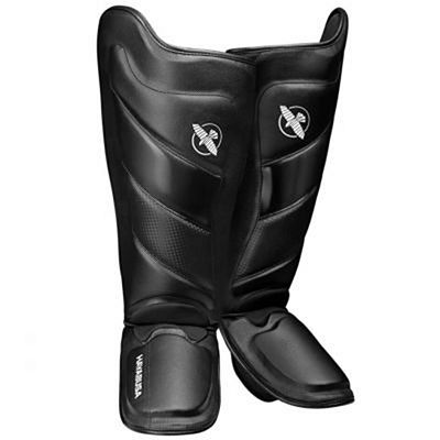 Hayabusa T3 Striking Shinguards Black-Black