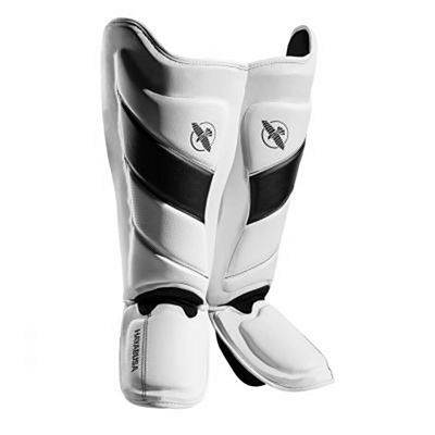 Hayabusa T3 Striking Shinguards White