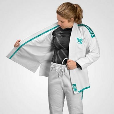 Hayabusa Women Lightweight Jiu Jitsu Gi White-Green