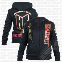 Headrush Battlefords Zip Hoodie Schwarz