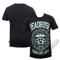 Headrush Brass N Chains T-shirt Schwarz