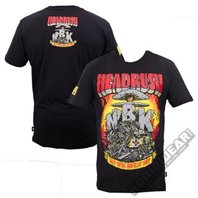 Headrush Camiseta Condit Negro