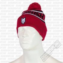 Headrush Dames Point Beanie Rot