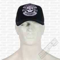 Headrush Devils Slide Snapback Hat Schwarz