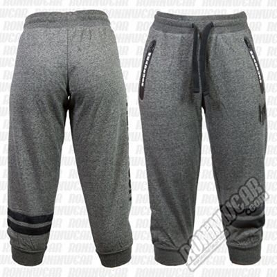 Headrush Double Stripes 3/4 Joggers Grau-Schwarz