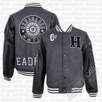 Headrush Emlenton Varsity Jacket Grigio-Nero