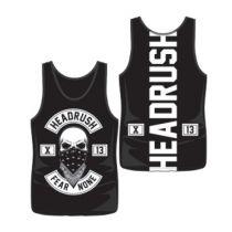 Headrush Fear None X13 Tank Top Black