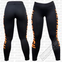 Headrush Full Fledge Fitness Leggings Schwarz-Orange