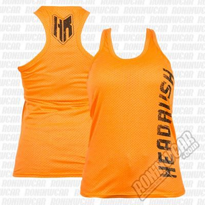Headrush Full Fledge Tank Top Orange