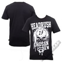 Headrush Hold Up T-shirt Schwarz