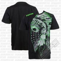 Headrush Masked Chief Tee Schwarz