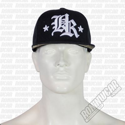 Headrush Rockstar Snapback Hat Negro