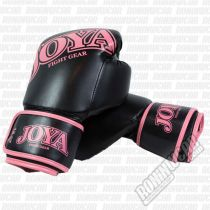 Joya Kick Boxing Gloves Top One PU Fekete-Ròzsaszìn