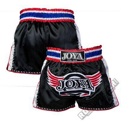 Joya Pro Thai Shorts Black-White