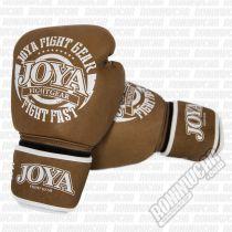 Joya Guantes Piel Kickboxing Fight Fast Barna