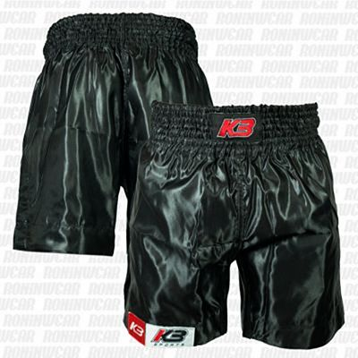 KB Boxing Shorts Basic Preto