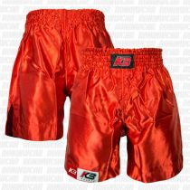 KB Boxing Shorts Basic Rojo