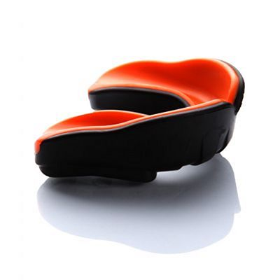 Kenka Pro Mouthguard Black-Orange