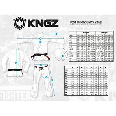 Kingz Classic Jiu Jitsu Gi Weiß